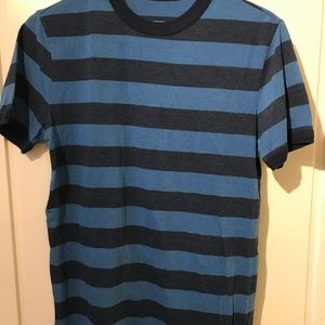 Mossimo Blue Striped Tee